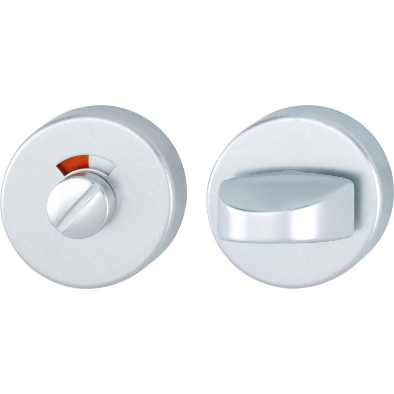 HOPPE 50mm x 8mm Satin Anodised Aluminium Bathroom Turn & Indicator