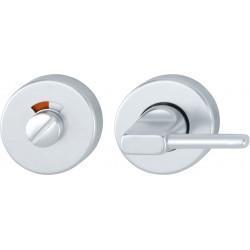 HOPPE 50mm x 8mm Satin Anodised Aluminium Disabled Bathroom Turn & Indicator