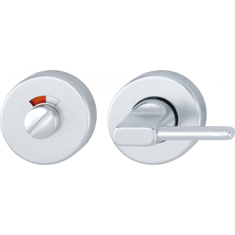 HOPPE 50mm x 8mm Satin Anodised Aluminium Disabled Bathroom Turn & Indicator
