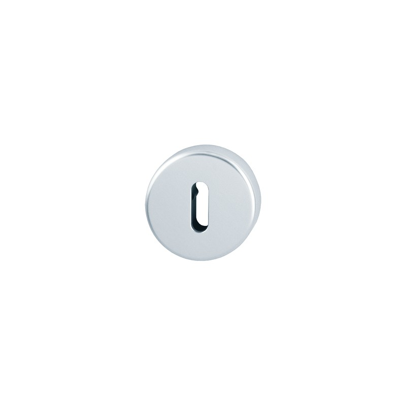 HOPPE 50mm x 8mm Satin Anodised Aluminium Lever Key Escutcheon