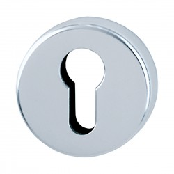 HOPPE 50mm x 8mm Satin Anodised Aluminium Euro Profile Escutcheon