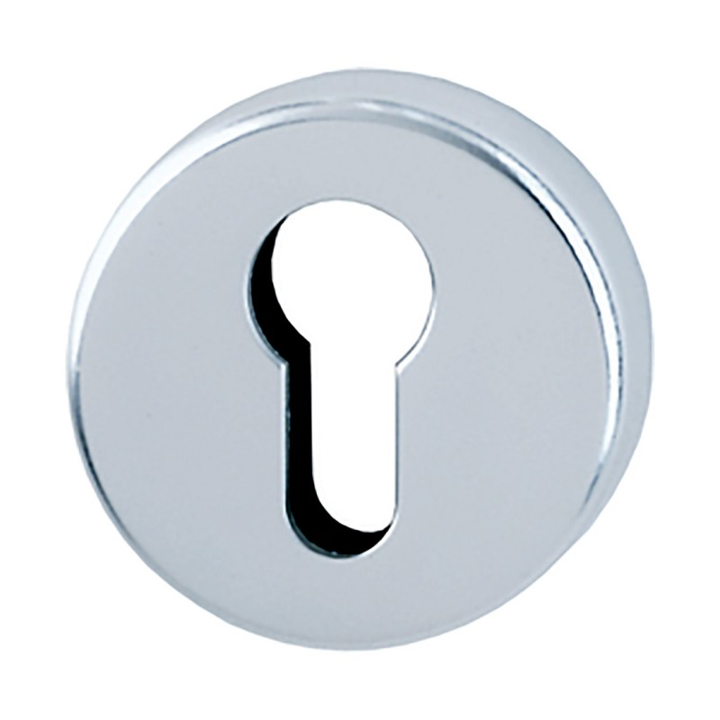 HOPPE 50mm x 8mm Satin Anodised Aluminium Europrofile Escutcheon (B)