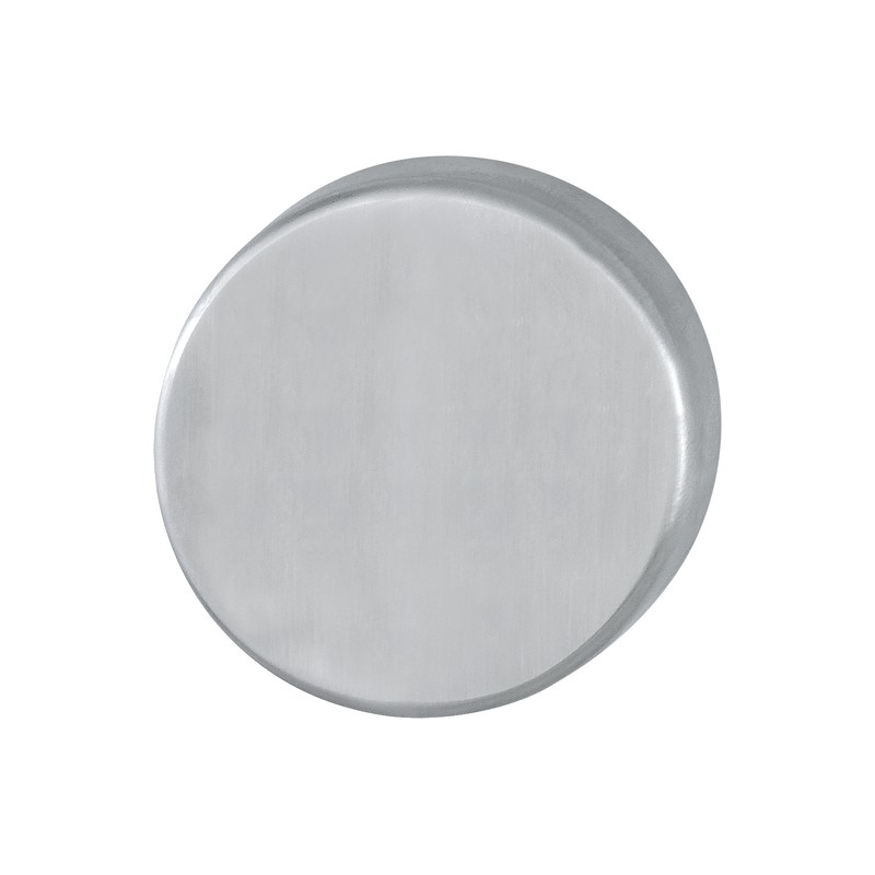 HOPPE 50mm x 6mm Satin Stainless Steel Steel Blank Escutcheon