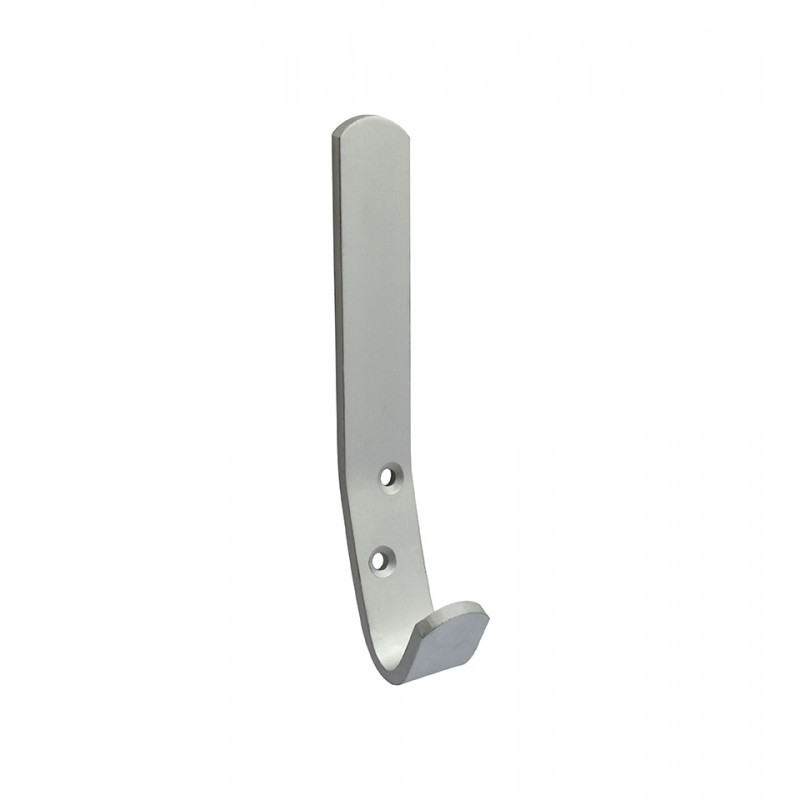Satin Anodised Aluminium Hat & Coat Hook