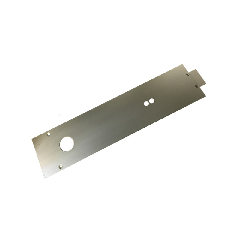 DORMA RTS85W Cover Plate - Timber Doors - Silver (B)