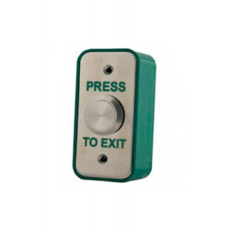 "Vandal Resistant Momentary ""Press To Exit"" Button - SSS"