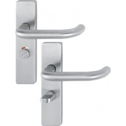 ARRONE AR361/15 Stainless Steel Bathroom Lever Handle on Backplate