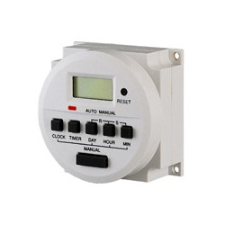 24hr, 7 Day Programmable Timer TH827 - 12V AC/DC