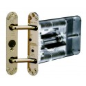 PERKO-POWERMATIC Concealed Door Closer - Polished Brass