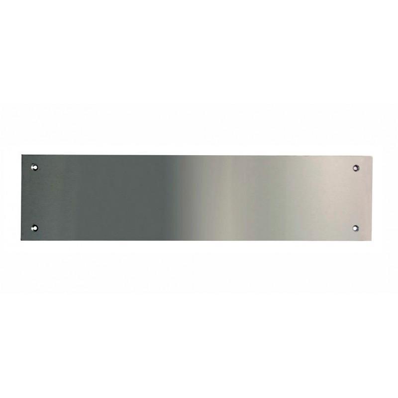 770mm x 150mm x 1.5mm Satin Anodised Aluminium Kick Plate
