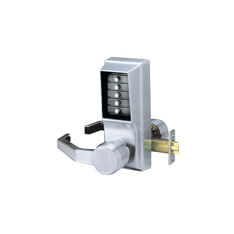 KABA Simplex L1011 Digital Lock - Satin Chrome