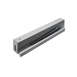 DORMA ED100 Low Energy Swing Door Operator c/w Cover & Slide Arm Silver
