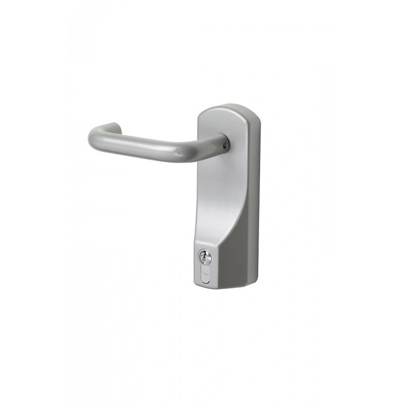 Exidor 322EC Lever Operated Outside Access Device with Cylinder