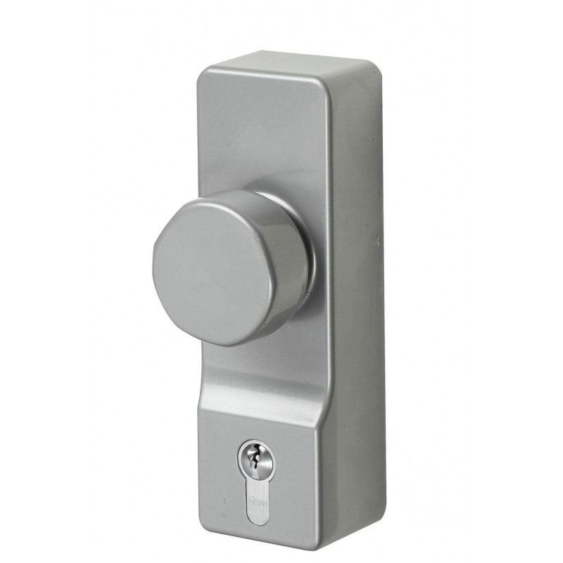Exidor 302EC Knob Operated Outside Access Device with Euro Cylinder
