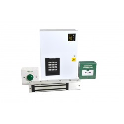 12v DC - Standalone Single Door Maglock PX2000+ Proximity Access Control Kit