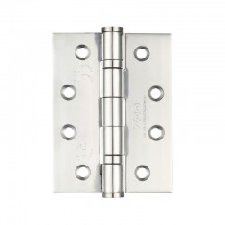 102mm X 76mm Polished Stainless Steel Ball Bearing Hinge 'CE' Grade 13