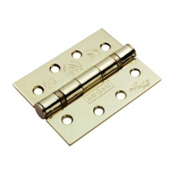 102mm x 76mm EB Plated Ball Bearing Hinge CE Marked Grade 13