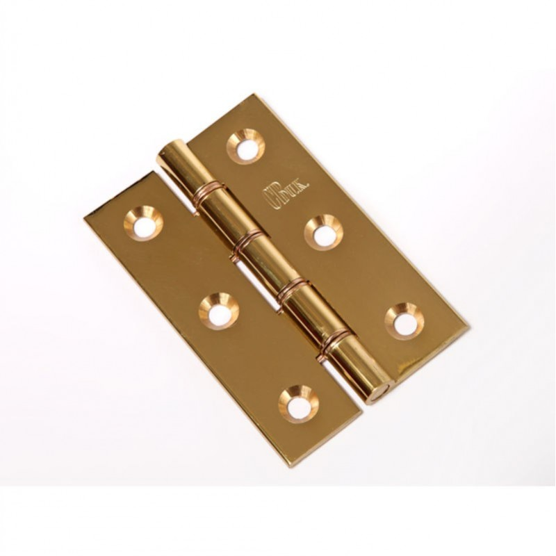Polished Brass DPBW Hinge