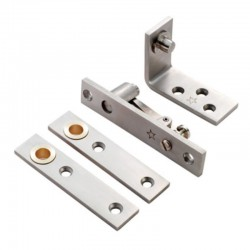 Satin Stainless Steel Double Action Pivot