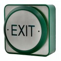 Large All Active Exit Button - Stainless Steel