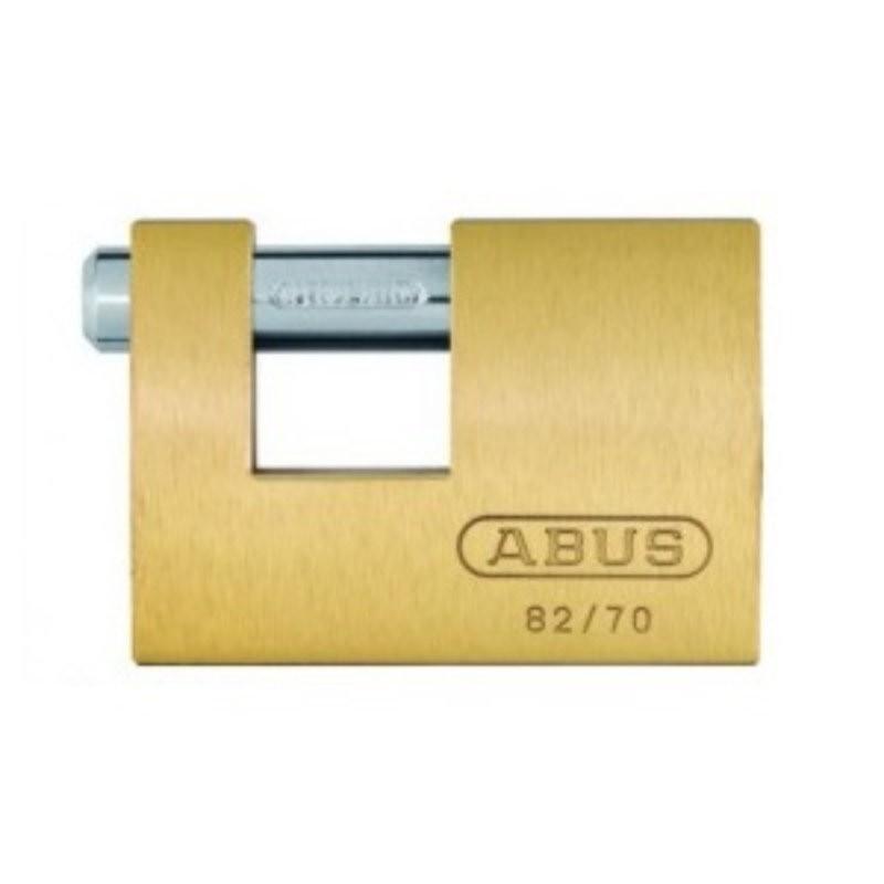 ABUS 82/70C Brass Shutter Lock