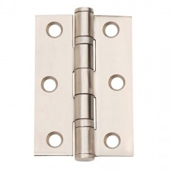 76mm X 51mm Ball Bearing Hinge Stainless Steel