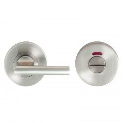 Large Bathroom Turn & Indicator Satin Stainless Steel G316