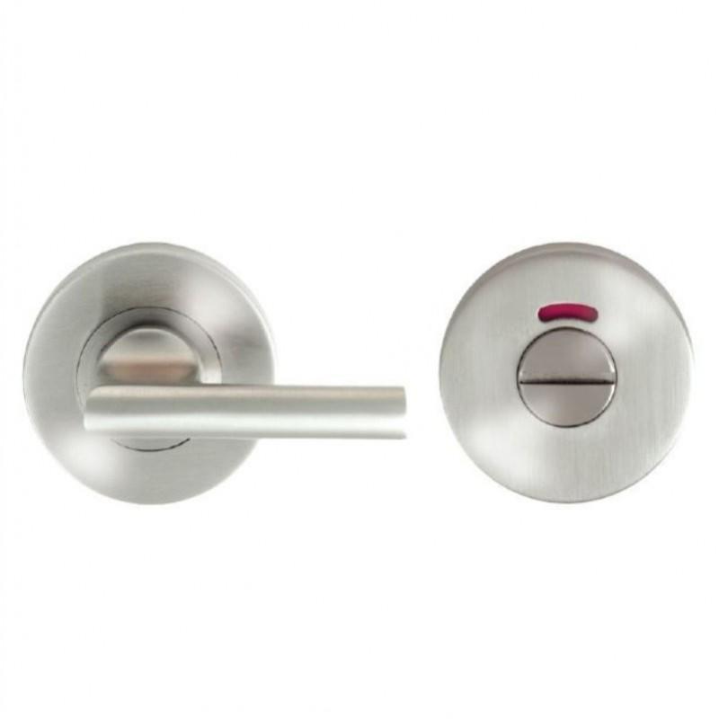 Large Bathroom Turn & Indicator Satin Stainless Steel G316