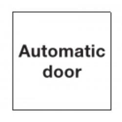 Automatic Door Signage