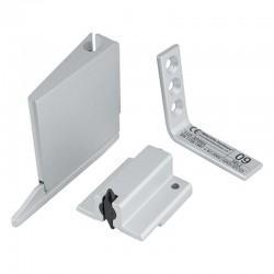 Satin Anodised Aluminium Door Selector