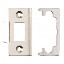 13mm Rebate Set To Suit Tubular Latch Satin Chrome