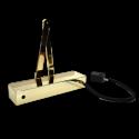 Arrow 624EM Electromagnetic Hold Open/Swing Free Door Closer - PB