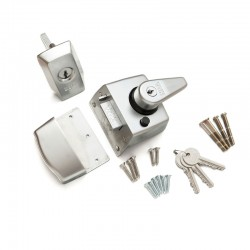 ERA 1830 Cylinder Rim Nightlatch - Chrome