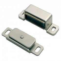 FTD840 Magnetic Door Catch - Nickel Plate