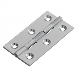 FTD800D Cabinet Hinge - Satin Chrome