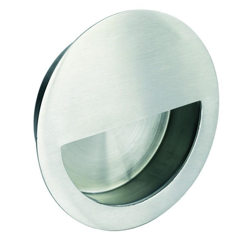 FPH1004 Circular Flush Pull - Satin Stainless