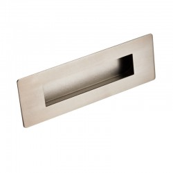 FPH1180 Rectangular Flush Pull - Satin Stainless