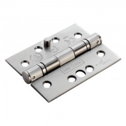 Eurospec HIN1433SEC Stainless Steel Ball Bearing Security Hinge - Square