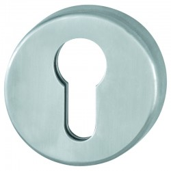 AR361/67 Grade 316 Stainless Steel Euro Escutcheon - Satin