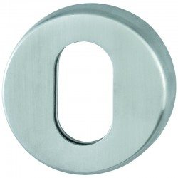 HOPPE AR361/68 Grade 316 Stainless Steel Oval Profile Escutcheon