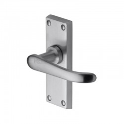 V710 Victorian Lever Latch Furniture - Satin Chrome