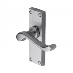 V800 Bedford Lever Latch Furniture - Satin Chrome