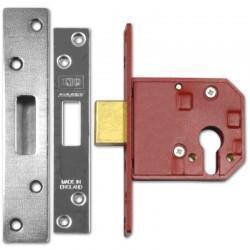 UNION L2144E Euro Profile Deadlock - Chrome