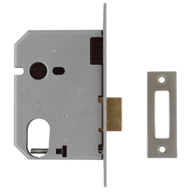 UNION L2141 Oval Profile Deadlock - Chrome
