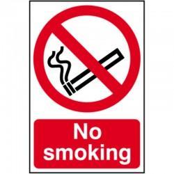 No Smoking Sign 200mm x 300mm