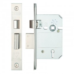 ZBSS BS3621 5 Lever Sashlock - 65mm Stainless