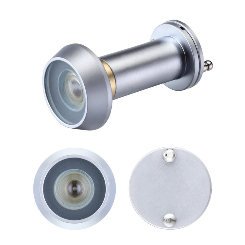 ZAB30 Fire Rated Security Door Viewer - Satin Chrome