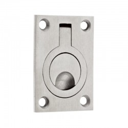 ZAS43 Stainless Steel Flush Ring Pull