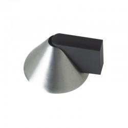 ZOO ZAS89 Stainless Steel Cone Shaped Floor Mounted Door Stop