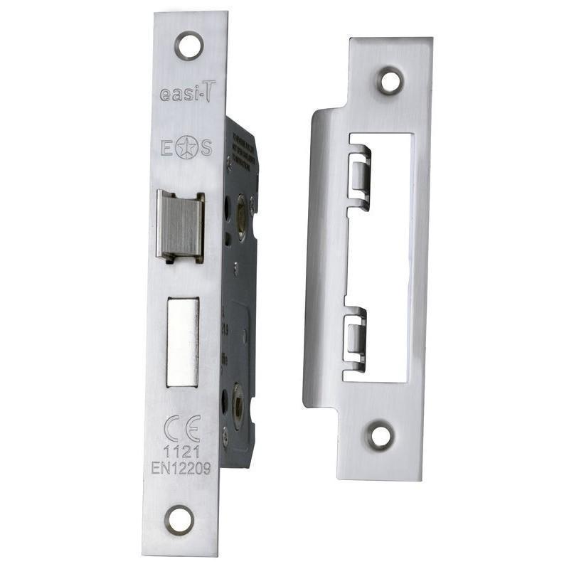 Eurospec Easi-T Bathroom Lock - Satin Nickel